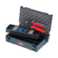 Souprava kleští pro lisování kabelových koncovek Knipex, 1250 ks