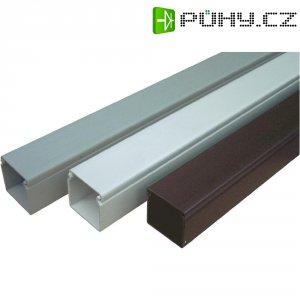 Elektroinstalační lišta s krytem OBO Bettermann, 6021018, 40 x 90 mm, 2 m, šedá
