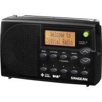 DAB+ rádio Sangean DPR-65 Basic Black, FM, černá