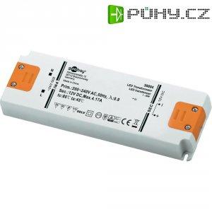 Vestavný spínaný zdroj Goobay SET 12-50 LED Slim, 12 VDC, 50 W