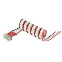 Připojovací kabel Modelcraft, pro 6 LiPol článků, zástrčka XH