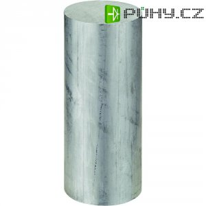 Kulatý profil hliníkový, 25 x 200 mm