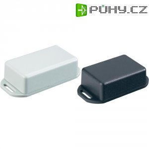 Euro pouzdro Hammond Electronics 1551KFLBK, (d x š x v) 80 x 40 x 20 mm, černá