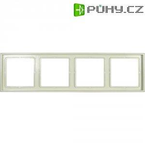 Krycí rámeček Jung, LS984W, čtyřnásobný, krémově bílá