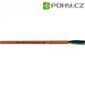Silikonový kabel LappKabel Ölflex® HEAT 180, 3 x 0,75 mm², červená/hněda, 1 m
