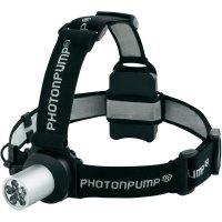 LED čelovka E41 PhotonPump, 5041, černá/stříbrná