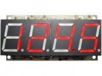 Digitální teploměr -50 až 125°C červená barva STAVEBNICE