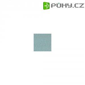 Potahová látka akustický velur 150 x 100 cm - světle šedá