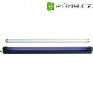 UV svítidlo se zářivkou, sada 120cm 36W Slim UV & weiß 51101464, 120 cm, 36 W, černá