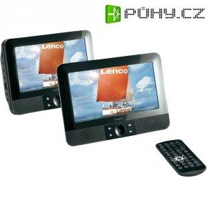 Přenosný DVD přehrávač do auta Lenco MES-211, 2 monitory