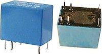 Relé N4100 24VDC(120VAC)/1A 16x11x12mm