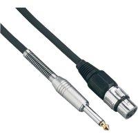 Kabel XLR (F) / jack (M) 6,3 mm, 10 m