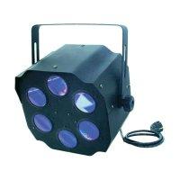 DMX LED efektový reflektor Eurolite LED FE-800, 51918618, 15 W, multicolour