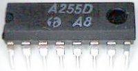 A255D - TV H/V synchron. /TDA2593/