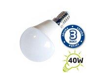 Žárovka LED G45 E14 5W bílá teplá (Pc)