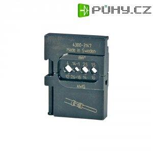 Krimpovací čelisti pro obráběné kontakty Pressmaster, 0,14-1,0/1,5/2,4/4 mm²