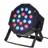 Disco LED DJ světlo /FLAT PAR LIGHT/
