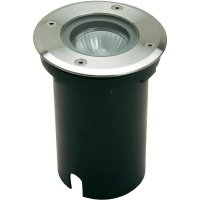 Venkovní vestavné svítidlo ECO Light 7005, GU10, 35 W, stříbrná