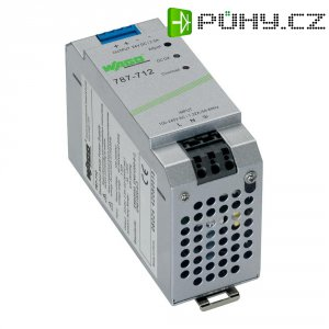 Napájecí zdroj na DIN lištu Wago 787-712, 60 W, 24 V/DC