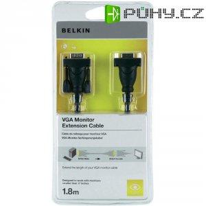 VGA Belkin prodlužovací kabel k monitoru, 1,8 m, černý