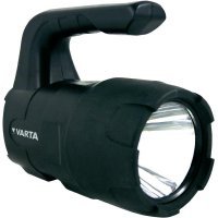 Ruční LED svítilna Varta Indestructible Beam, 3 W, černá