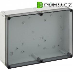 Svorkovnicová skříň polykarbonátová Spelsberg PS 2518-8f-t, (d x š x v) 254 x 180 x 84 mm, šedá (PS 2518-8f-t)