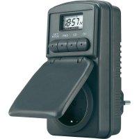 Spínací zásuvka s časovačem GAO, DWZ 20, 3680 W, IP44, digitální, týdenní