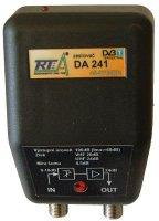 Domovní zesilovač DA241 širokopásmový, F-konektory