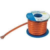 Zemnící kabel SH1997C178, 1x 35 mm², Ø 11,35 mm, 5 m, červená/transparentní