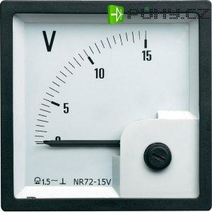 Analogový vestavný přístroj 72 15 V