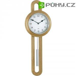 Quartz kyvadlové nástěnné hodiny - pendlovky 665102, dřevo