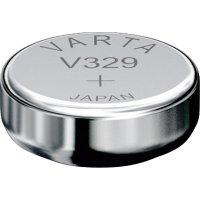 Knoflíková baterie 329 Varta, SR731, na bázi oxidu stříbra