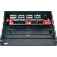 """Přední zásuvný panel s USB 3.0, 8,9 cm (3,5\""""), 4-portový, interní připojení"""