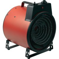 Teplovzdušný ventilátor Tristar KA-5027 s termostatem, červená/černá
