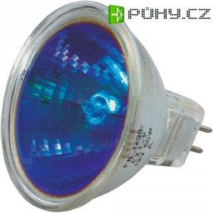 Halogenová žárovka, 12 V, 20 W , GU5.3, 2500 h, modrá