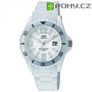 Ručičkové náramkové hodinky Carlton Quartz, silikonový pásek, bílá
