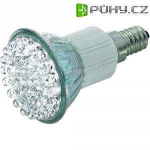 LED žárovka 38 E14 2,1 W teplábílá