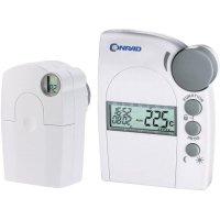 Bezdrátový termostat s hlavicí FHT8 Conrad, 6 až 30 °C