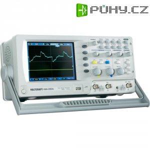 Digitální paměťový osciloskop Voltcraft VDO-2102A, 2 kanály, 100 MHz