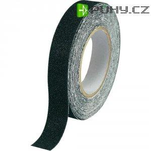 Protiskluzová páska 10 m x 25 černá, PVC