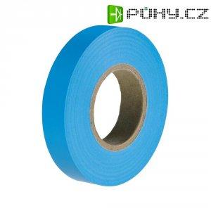 Izolační páska HellermannTyton HelaTapeFlex 15, 710-00111, 15 mm x 25 m, modrá