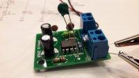 Jednoduchý regulátor malého ventilátoru 12V - stavebnice