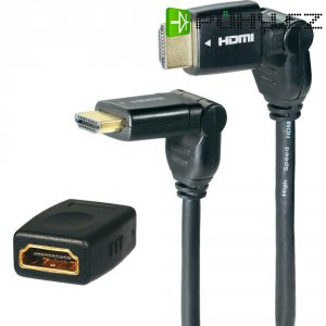 Speaka HDMI kabel s Ethernetem, 5 m a HDMI adaptér