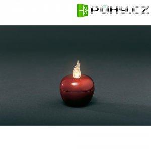 Svítící jablko malé LED Konstsmide, červená