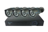 Kamera set SECURIA PRO AHD4CHV1 720P 4CH DVR + 4x IR CAM analog