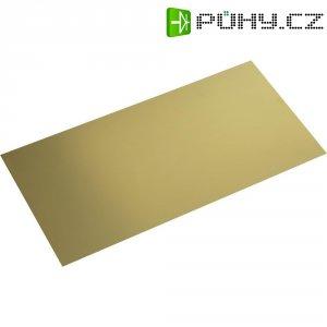 Mosazná deska Modelcraft, 400 x 200 x 0,8 mm