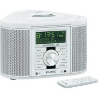 Rohové DAB+ rádio s CD Pure Evoke Chronos CD Serie II, FM, bílá