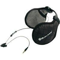 Headset Midland SubZero, s chráničem uší, černý