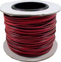 Kabel 2x0,12mm2 28AWG červeno-černý