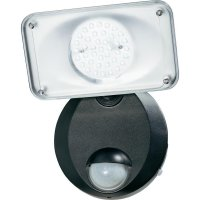 Solární LED reflektor Basetech Vitoria, SOL-CIL409, černá